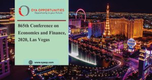 865th Conference on Economics and Finance, 2020, Las Vegas