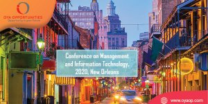 868th Conference on Management and Information Technology, USA