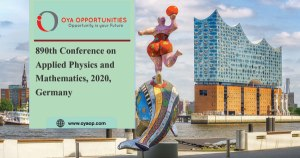 890th Conference on Physics and Mathematics, 2020, Germany