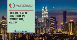 896th Conference on Social Science and Economics, 2020, Malaysia