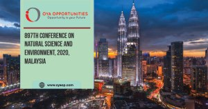 897th Conference on Natural Science and Environment, 2020, Malaysia