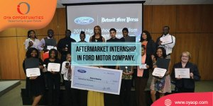 Aftermarket Internship in Ford Motor Company, United States