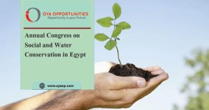 Annual Congress on Social and Water Conservation in Egypt