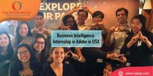 Business Intelligence Internship in Adobe in USA