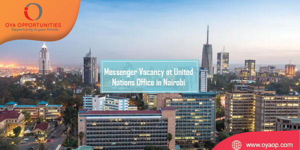 Messenger Vacancy at United Nations Office in Nairobi