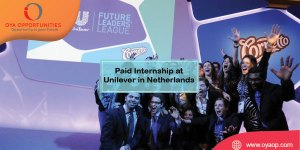 Paid Internship at Unilever in Netherlands
