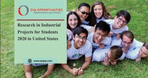 Research in Industrial Projects for Students 2020 in United States