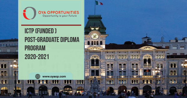 Funded Post-graduate Diploma Program 2020-2021