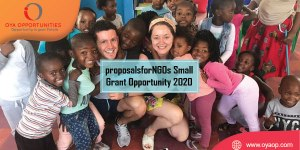 proposalsforNGOs Small Grant Opportunity 2020