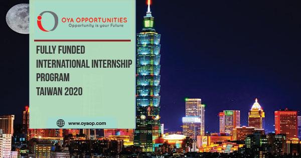 International Internship Program in Taiwan 2020