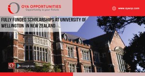 Fully Funded Scholarships at University of Wellington in New Zealand