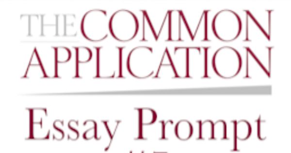common app eassay