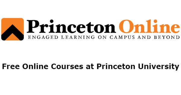 Free Online Courses at Princeton University - OYA School