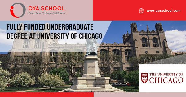 Fully Funded Undergraduate Degree at UChicago