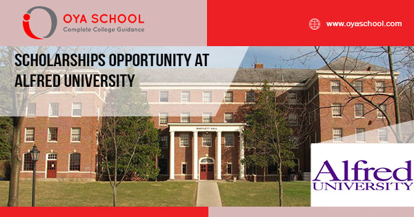Scholarships Opportunity at Alfred University