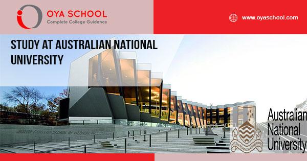 Study at Australian National University
