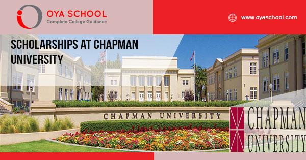 Scholarships at Chapman University