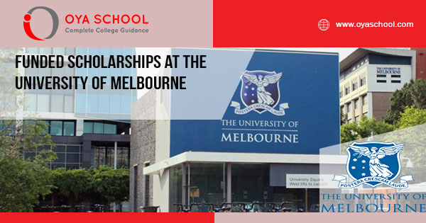 Funded Scholarships at the University of Melbourne