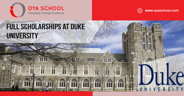 Full Scholarships at Duke University