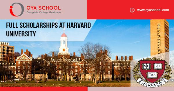 Full Scholarships at Harvard University
