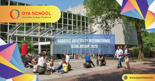 Radboud University International Scholarship 2020