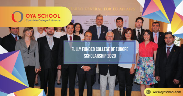 Fully Funded College of Europe Scholarship 2020