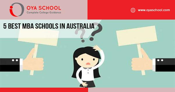 5 Best MBA Schools in Australia