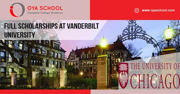 Full Scholarships at the University of Chicago