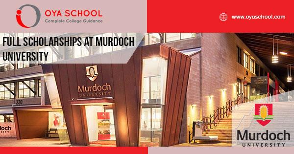 Full Scholarships at Murdoch University