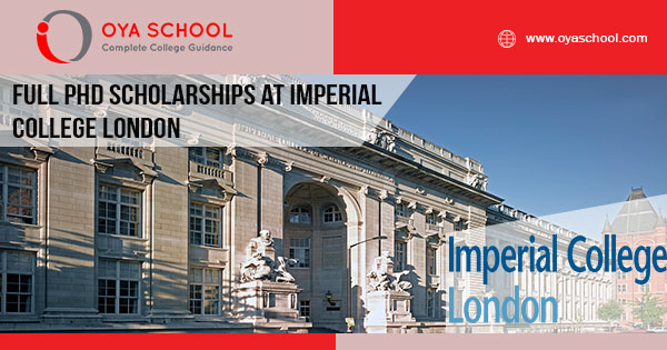 Full PhD Scholarships at Imperial College London
