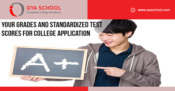 Your Grades and Standardized Test Scores for College Application