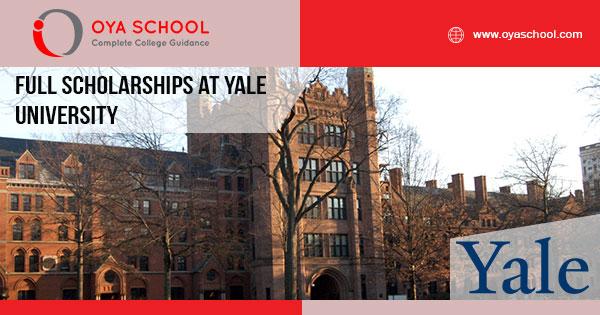 Full Scholarships at Yale University