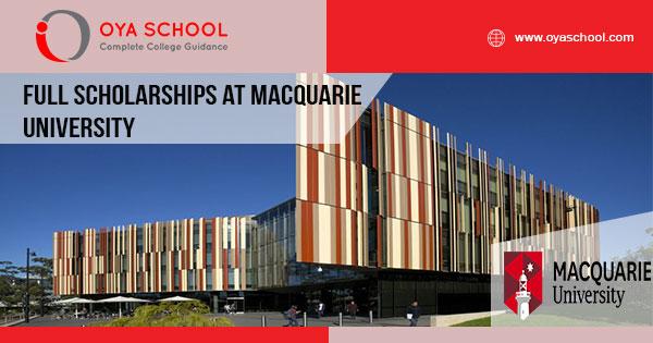 Full Scholarships at Macquarie University