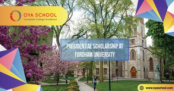 Presidential Scholarship at Fordham University