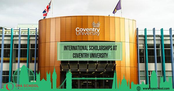 International Scholarships at Coventry University