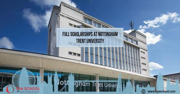 Full Scholarships at Nottingham Trent University