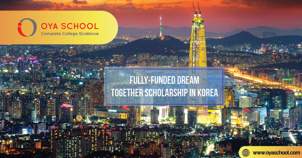 Fully-funded Dream Together Scholarship in Korea
