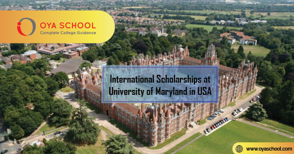 International Scholarships at University of Maryland in USA