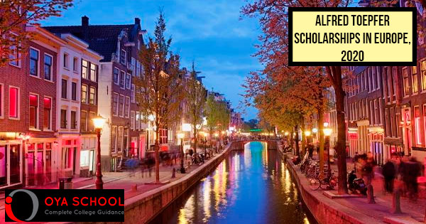 Alfred Toepfer Scholarships in Europe