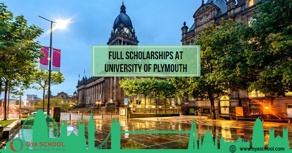 Full Scholarships in UK at University of Plymouth 2020