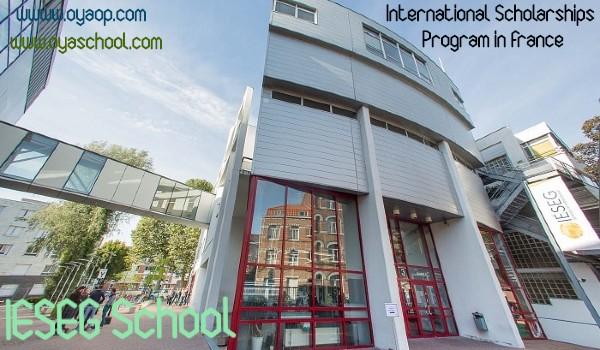IÉSEG's International Scholarships Program,2020 in France
