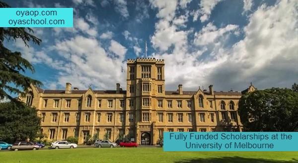 Fully Funded Scholarships in Australia 2021 - OYA School