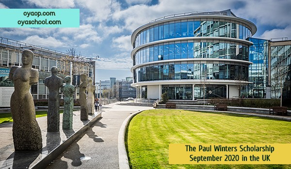 The Paul Winters Scholarship September 2020