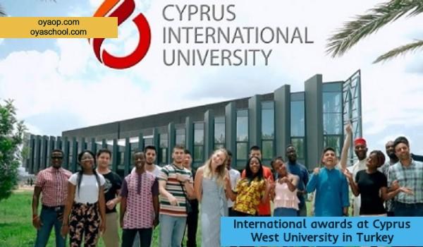 International awards at Cyprus West University in Turkey