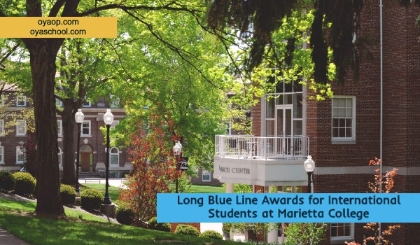 Long Blue Line Awards for International Students at Marietta College
