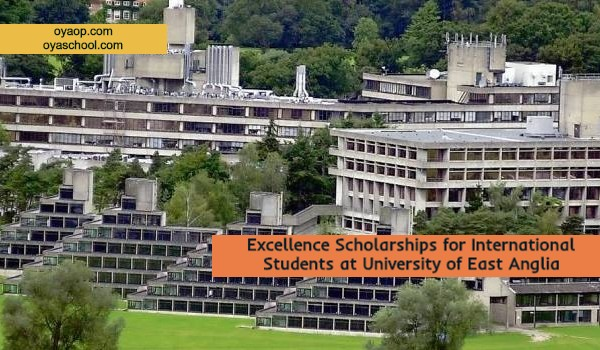 Excellence Scholarships for International Students at University of East Anglia
