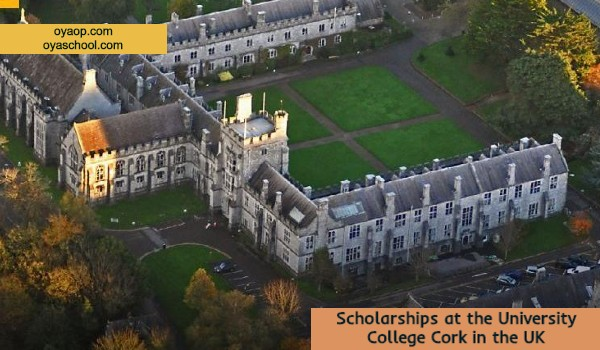 Scholarships at the University College Cork in the UK