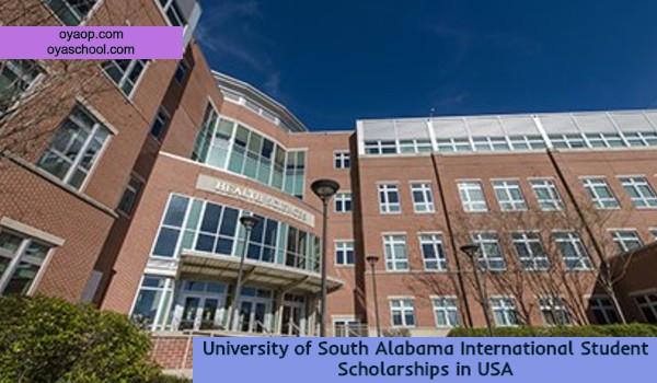 University of South Alabama International Student Scholarships in USA