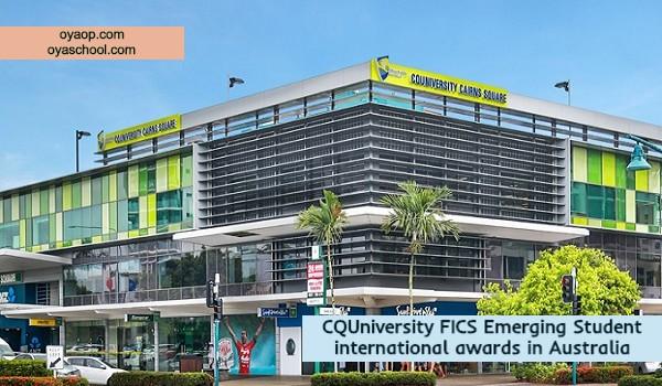 CQUniversity FICS Emerging Student international awards in Australia