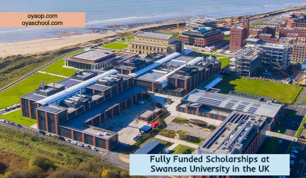 Fully Funded Scholarships at Swansea University in the UK